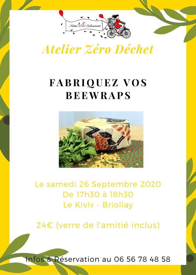 Atelier zero dechet Beewrap