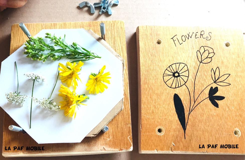 Atelier PResse à fleurs KIVIV briollay