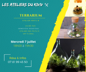 Atelier terrarium Briolla
