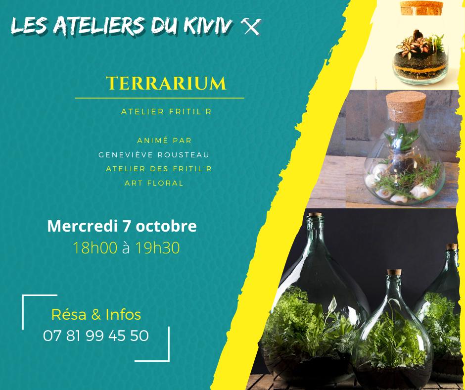 Atelier adulte terrarium